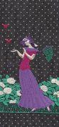 <p>托比亚斯&middot;卡斯帕,<em>Butterflies (black, purple)</em>,2019,艺术微喷,裱卡纸,白色木框,24 x 11 cm (照片尺寸),50 x 36.5 x 3 cm (外框尺寸),3 版 + 2 AP</p>