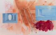 <p>Xie Nanxing,&nbsp;<em>What to Exhibit No. 3,</em> 2017, oil on canvas, 190 x 299 cm</p>