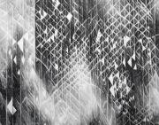 <p>Julia Steiner, <em>system (flake)</em>, 2020, gouache on paper, 117 x 150 cm</p>