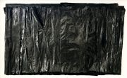 <p>Michel Comte, <em>Black Rift</em>,&nbsp;2019, Japanese ink on transparent paper, 66 x 115 cm paper size, 150 x 100 x 8 cm framed</p>