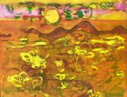 <p>Rebekka Steiger,&nbsp;<em>untitled,</em> 2021, tempera, ink and oil stick on paper, 50 x 65 cm</p>
