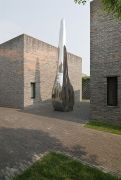 <p>Not Vital, <em>Tongue</em>,&nbsp;2009, stainless steel, 200 x 50 x 52 cm</p>