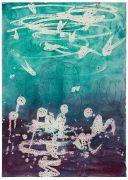 <p>Rebekka Steiger, <em>untitled</em>, 2019, tempera and gouache on paper, 54.5 x 39.5 cm</p>