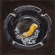 "<p>Meng Huang,&nbsp;<em isrender=""true"">Cigarettes No. 1</em>,&nbsp;2011, oil on canvas, 80 x 80 cm</p>"