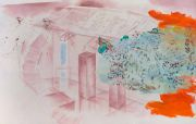 <p>Xie Nanxing,&nbsp;<em>What to Exhibit No. 1,</em> 2017, oil on canvas, 190 x 300 cm</p>