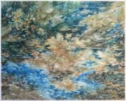 <p>尤莉亚&middot;斯坦纳,<em>untitled</em>,2017,玻璃纸上油画,110 x 137 cm (外框尺寸:119 x 146 cm)</p>