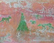 <p>Rebekka Steiger, <em>untitled</em>, 2018, oil, tempera, pastel and&nbsp; gouache on canvas, 40 x 50 cm</p>
