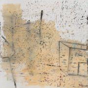 "<p>Xie Nanxing, <em isrender=""true"">Postcard No. 9</em>, 2015, oil on canvas, 220 &times; 220 cm</p>"
