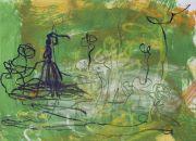 <p>Rebekka Steiger, <em>untitled</em>, 2018, gouache and pastel on paper, 39 x 54 cm</p>
