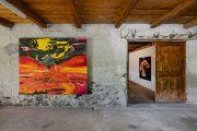 <p>Exhibition View, <em>ECHO</em> Groupshow, 2021, Ardez, Switzerland</p>