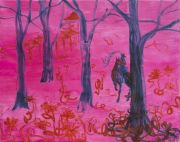 <p>Rebekka Steiger, <em>blind bend</em>, 2018, oil and tempera on canvas, 190 x 240 cm</p>