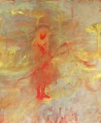 <p>Rebekka Steiger, <em>Amor Approximately</em>, 2017, oil and tempera on canvas, 240 x 200 cm</p>