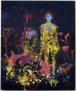 <p>Rebekka Steiger, <em>untitled</em>, 2017, oil and tempera on linen, 240 x 200 cm</p>