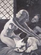 "<p>Xie Nanxing, <em isrender=""true"">We No. 1</em>, 2009, oil on canvas, 200 x 150 cm</p>"