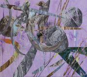 <p>Wang Shang, <em>C Rock 108</em>, 2017, acrylic, screenprint, canvas, 170 x 190 cm</p>