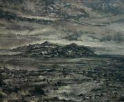 """<p isrender=""""true"""">Meng Huang, <em isrender=""""true"""">Distant Mountain No. 5</em>,&nbsp;2011, oil on canvas, 38 x 46 cm</p>"""