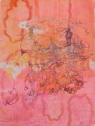 <p>Rebekka Steiger, <em>xibu</em>, 2018, oil crayon and tempera on canvas, 240 x 180 cm</p>