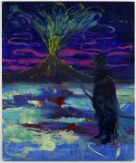 <p>Rebekka Steiger, <em>eruption (amor approximately)</em>, 2017, oil and tempera on canvas, 240 x 200 cm</p>