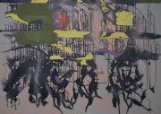 <p>Rebekka Steiger, 翻風, 2020, tempera, ink and oil on canvas, 170 x 240 cm</p>