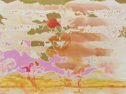<p>Rebekka Steiger, <em>aquifer</em>, 2019, oil and gouache on canvas, 180 x 240 cm</p>
