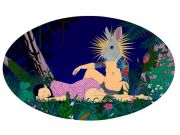 """<p isrender=""""true"""">Chen Fei, <em isrender=""""true"""">The Midsummer Night</em>, 2012, acrylic on linen, 120 x 200 cm</p>"""