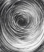<p>Julia Steiner, <em>circulation III</em>, 2020, gouache on paper, 90 x 70 cm</p>