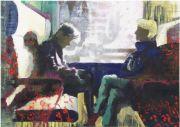 <p>Rebekka Steiger, <em>untitled</em>, 2015, oil on cotton, 100 x 140 cm</p>