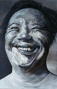 "<p isrender=""true"">Meng Huang,<em isrender=""true"">&nbsp;International Face no. 2</em>,&nbsp;2003, oil on canvas, 280 x 180 cm</p>"