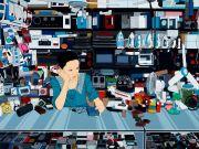 "<p>Chen Fei, <em isrender=""true"">Xiao Wu Ji</em>, 2012, acrylic on linen, 180 x 240 cm</p>"