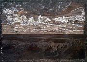 """<p isrender=""""true"""">Meng Huang,&nbsp;<em>Horizon</em>,&nbsp;2001, oil on canvas, 200 x 280 cm</p>"""