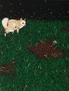 """<p>Chen Fei, <em isrender=""""true"""">Small Cooling</em>, 2011, acrylic on linen, 40 x 30 cm</p>"""