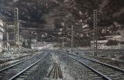 <p>Meng Huang,<em>&nbsp;Distance No. 25</em>,&nbsp;2013, oil on canvas, 180 x 280 cm</p>