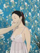 """<p>Chen Fei, <em isrender=""""true"""">Lulu</em>, 2016, acrylic on linen, 100 x 75 cm</p>"""