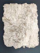 <p>尤莉亚&middot;斯坦纳,<em>deep skin V</em>,2016,熟石膏,漆,约 42 x 32 cm</p>
