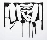 "<p>马里昂&middot;巴鲁克,<em isrender=""true"">La ritirata,</em>2019,华达呢,142 x 150 cm</p>"