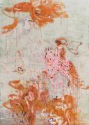 <p>Rebekka Steiger, <em>aftermath</em>, 2018, oil and tempera on canvas, 240 x 170 cm</p>