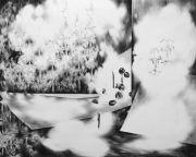 <p>Julia Steiner,<em> Interior (brocade)</em>, 2012, gouache on paper, 120 x 150 cm</p>