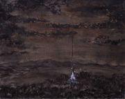 """<p isrender=""""true"""">Meng Huang, <em isrender=""""true"""">Landscape No. 2</em>,&nbsp;2008, oil on canvas, 40 x 50 cm</p>"""