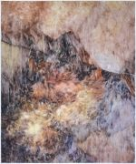 "<p>尤莉亚&middot;斯坦纳,<em isrender=""true"">untitled</em>,2013,玻璃纸上油画,150.5 x 125.5 cm (带框)</p>  <p>&nbsp;</p>"