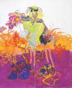 <p>Rebekka Steiger, <em>Zelda</em>, 2017, oil and tempera on canvas, 240 x 200 cm</p>