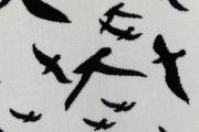 <p>Tobias Kaspar, <em>Raven </em>(detail), 2019, 1/2, wool, cotton, 140 x 180 cm, edition of 2 + 1 AP</p>
