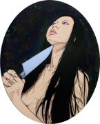 "<p isrender=""true"">Chen Fei, <em isrender=""true"">The Warmth</em>, 2012, acrylic on linen, 50 x 40 cm</p>"