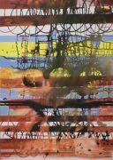 <p>Rebekka Steiger, <em>lichen and light</em>, 2020, ink, tempera and oil on canvas, 240 x 170 cm</p>