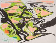 <p>Rebekka Steiger,&nbsp;<em>untitled,</em> 2020, tempera, ink and oil on paper, 50 x 65 cm</p>