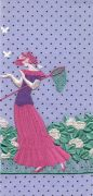 <p>Tobias Kaspar, <em>Butterflies (purple, pink)</em>, 2019, 1/3, ultra giclee, passpartout mounting, white wooden frame, 24 x 11 cm (photo); 50 x 36.5 x 3 cm (framed), edition of 3 + 2 AP</p>