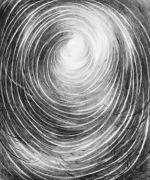 <p>Julia Steiner, <em>circulation I</em>, 2020, gouache on paper, 90 x 70 cm</p>