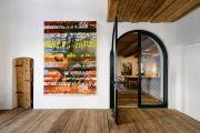 <p>Exhibition View of <em>Minestrone</em>, 2021, Ardez, Switzerland (Rebekka Steiger, <em>lichen and light</em>, 2020)</p>