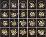 """<p>Meng Huang,&nbsp;<em isrender=""""true"""">Cigarettes No. 1</em>, 2011 - Cigarettes No. 20,&nbsp;2011, oil on canvas, each 80 x 80 cm</p>"""