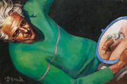 "<p>Xie Nanxing, <em isrender=""true"">Flamingo</em>, 2012, oil on canvas, 60 x 90 cm</p>"