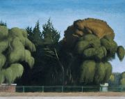"<p>Wang Xingwei, <em isrender=""true"">Big Tree by the Film Museum</em>, 2010, oil on canvas, 120 x 150 cm</p>"